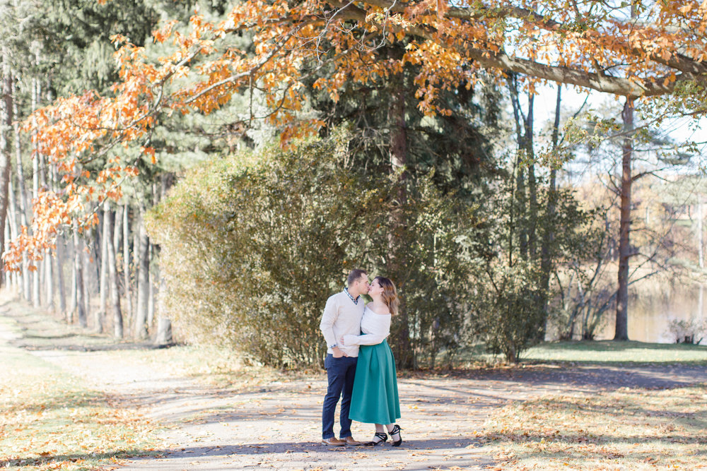 Clarks Summit PA Fall Engagement Anniversary Session Photos