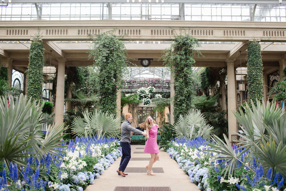 Longwood Gardens Engagement Session Photos Jordan DeNike_JDP-19.jpg