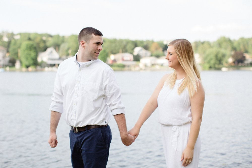 Crystal Lake Scranton PA Summer Engagement Session