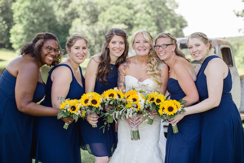 Scranton PA Wedding Photographers Sunflower Wedding Photos_0078.jpg