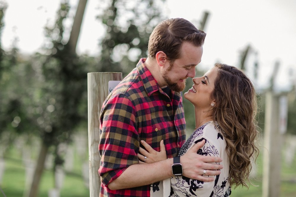 Roba's Apple Orchard Engagement Session