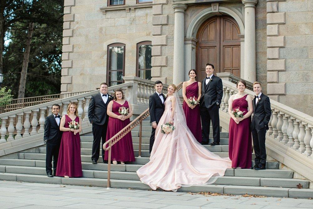 Grace + Joe | Romantic Fall Scranton Cultural Center Wedding_0064.jpg