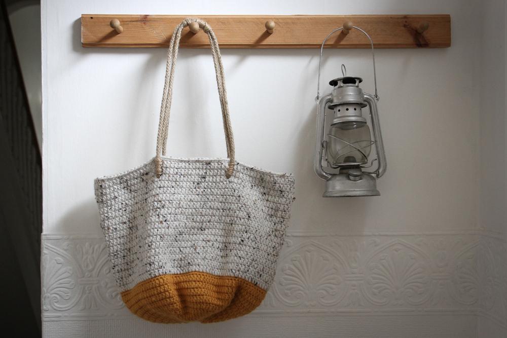 Crocheted bag by carolyn carter