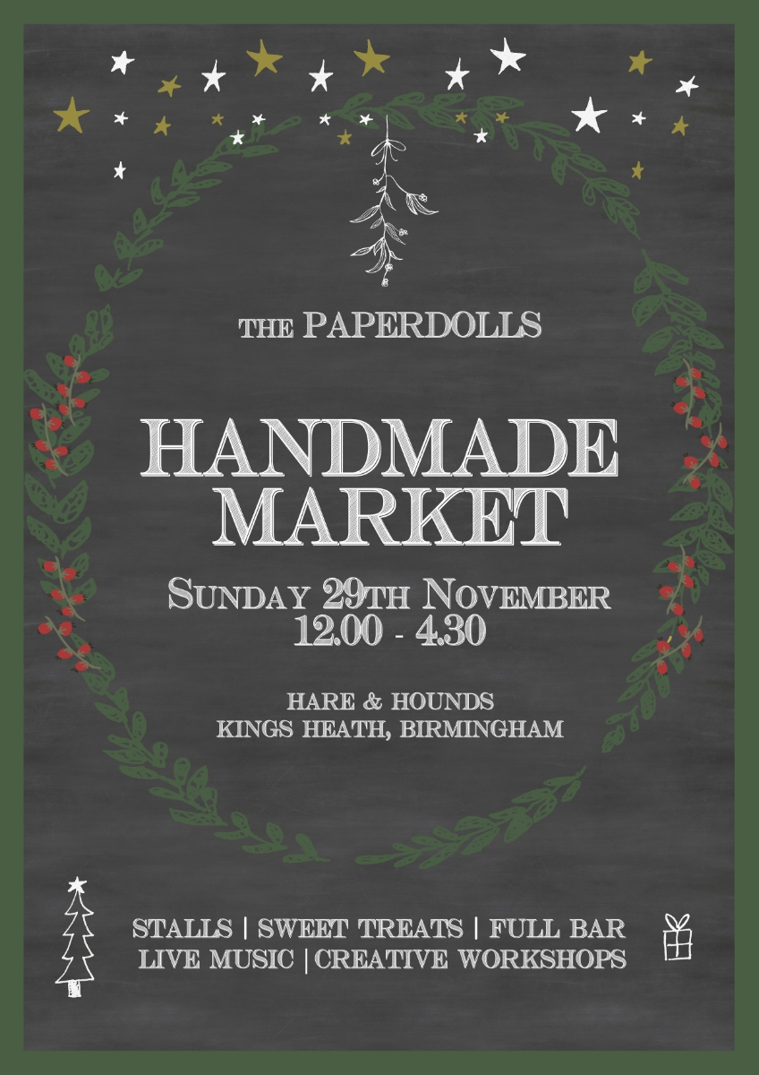 Paperdolls Handmade Market - Christmas 2015