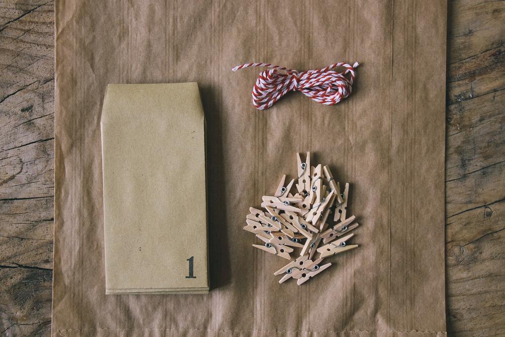 Christmas Advent calendar kit | carolyn carter