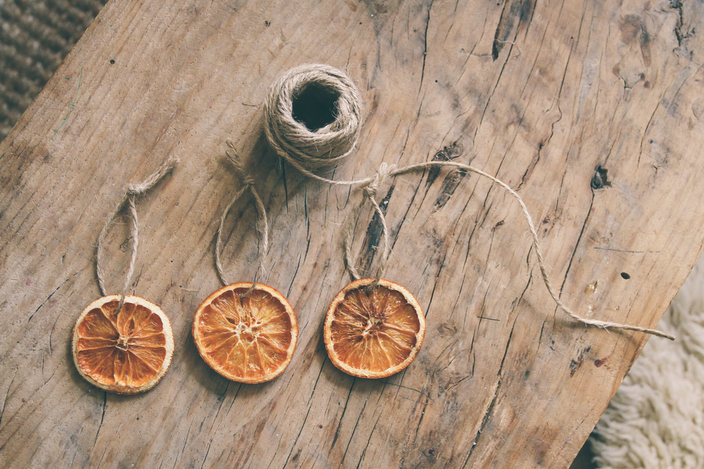 Dried orange decorations | carolyn carter
