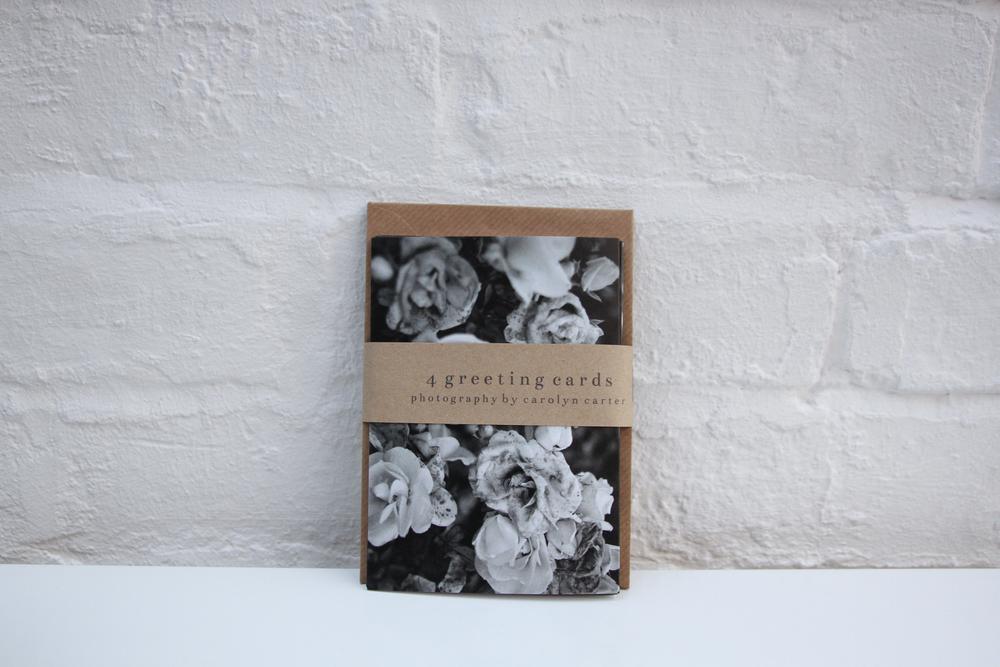 black & white greeting cards | carolyn carter