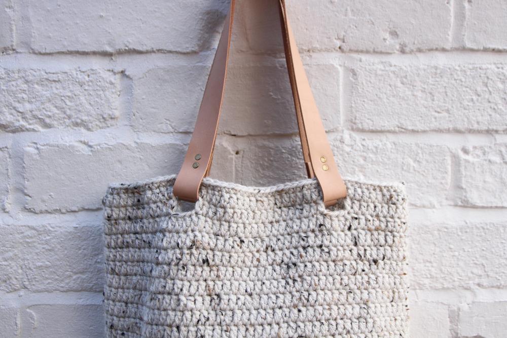 wool shoulder bag | carolyn carter