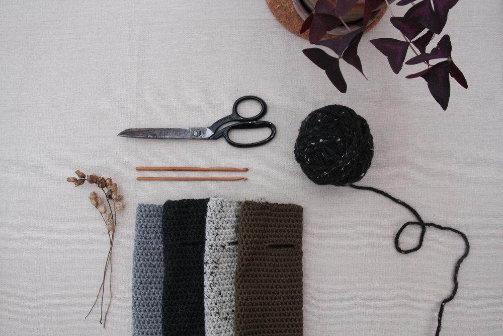 wristwarmers - made with celtic aran wool