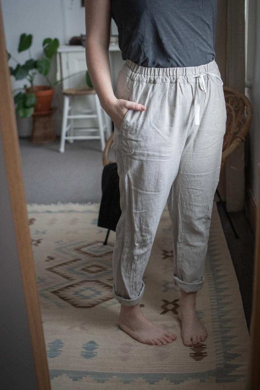 Linen trousers by  NotPerfectLinen