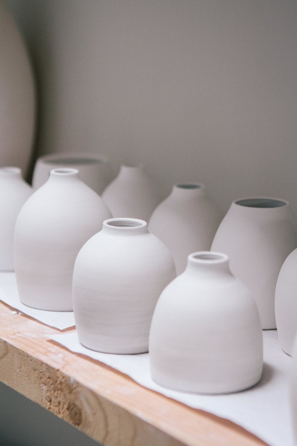 Artist Profile: Katie Robins Ceramicist - Carolyn Carter Photography