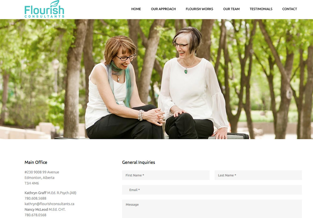Flourish Consultants Website
