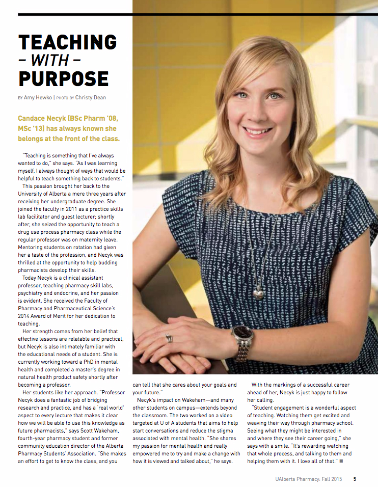 University of Alberta Magazine - Profile Photo