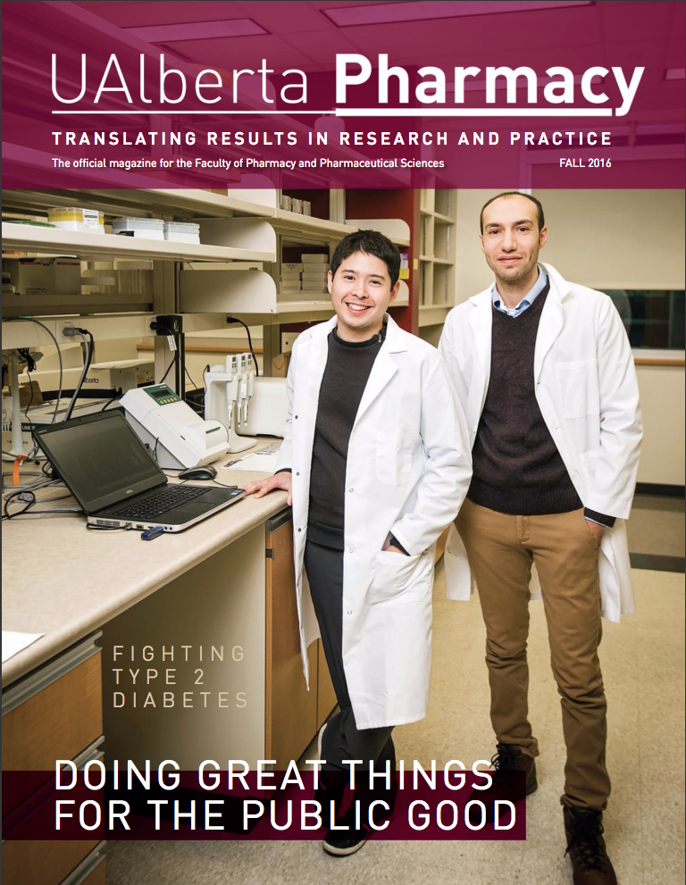 University Of Alberta Magazine Cover