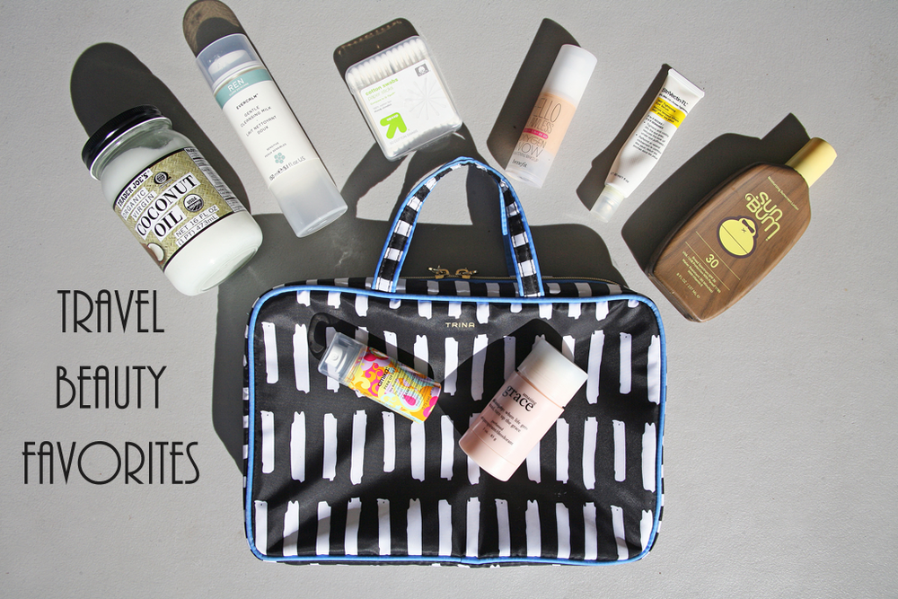 Travel Beauty Favorites