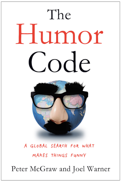 McGraw's recently published book, The Humor Code