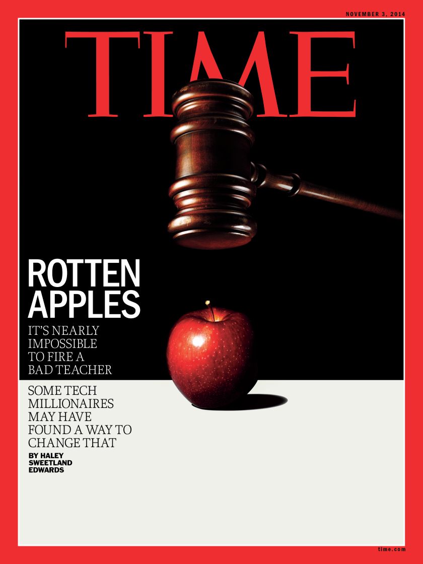Edwards' cover piece for TIME Magazine has drawn a significant response.