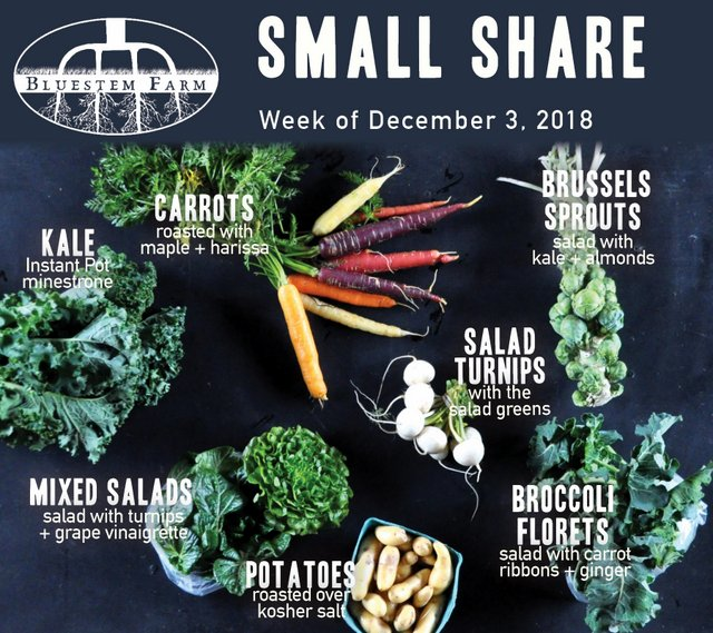 Small Share - Early December 2018