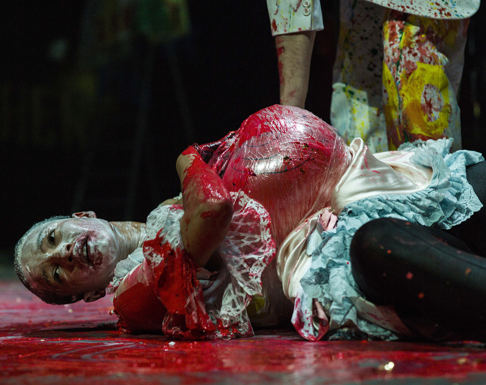 MOLIERE-TARTUFFE  Directed - Thorleifor Örn Arnarson   Dramaturgy- Ulf Frötzschner