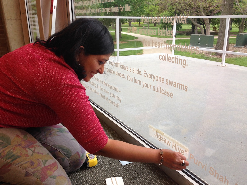 Purvi Shah, Burling Library Grinnell College