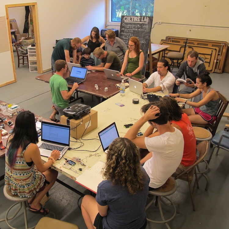 Skillshares - Using the skills of our local community and visiting artists, Grin City hosted lessons in many areas including basic Arduino, mixology, composting, cheesemaking, and cooking with grasshoppers.