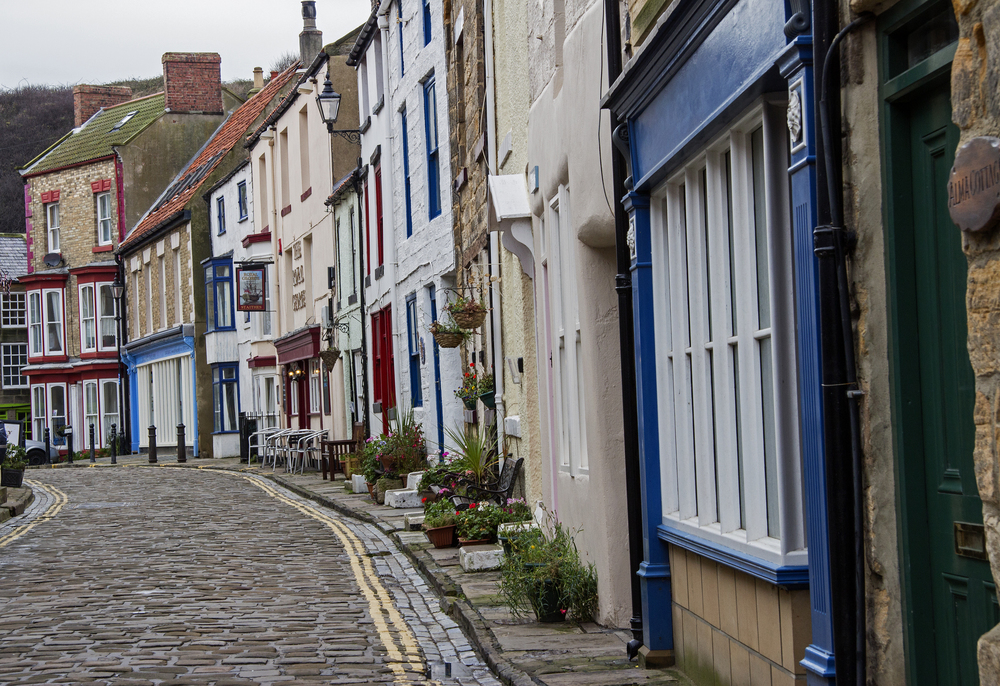 Staithes old town