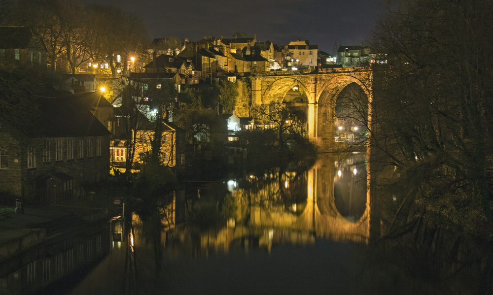 Knaresborough viaduct from near Mother Shipton's Cave