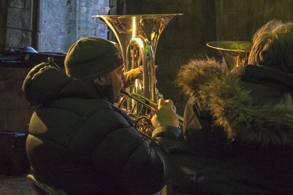 cellarium - brass band plays