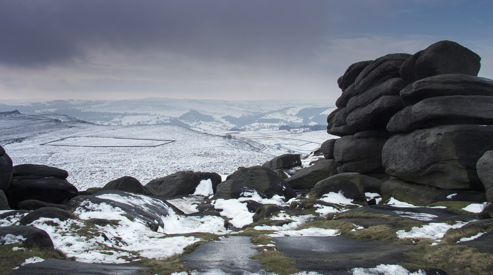 Higger Tor - Shelter Rock