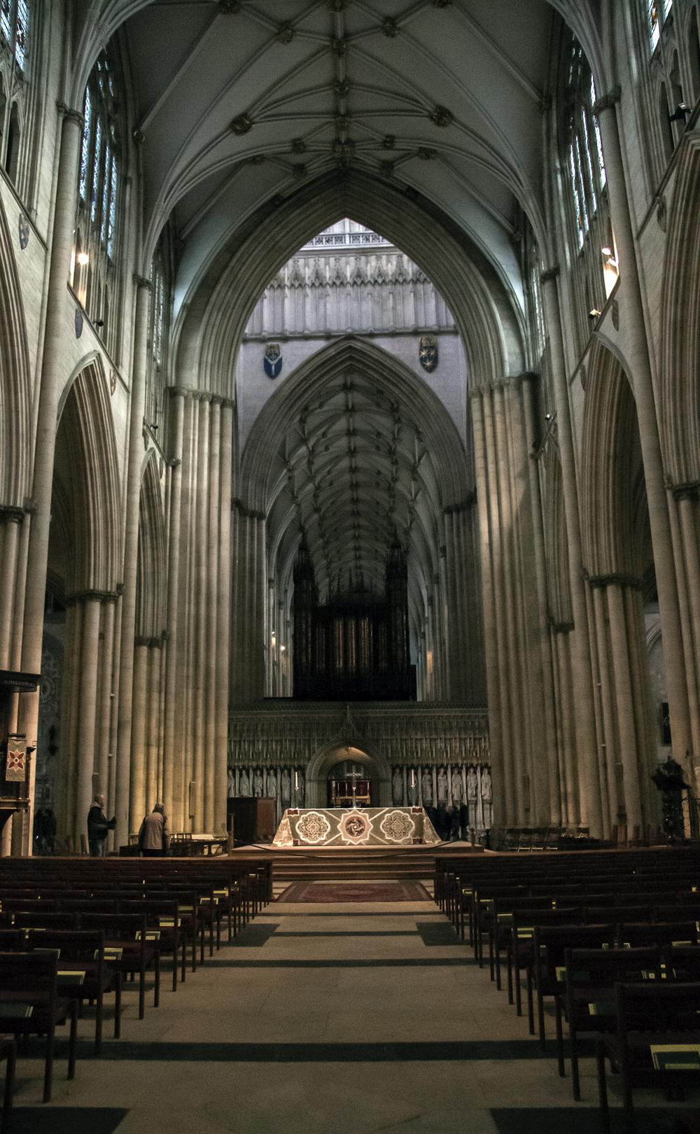 The Nave towards the Choir Screen