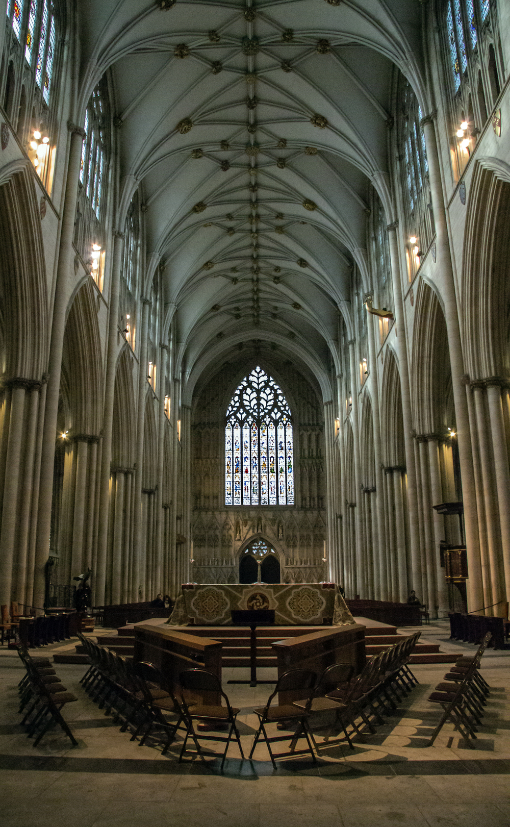 York Minster Nave and the Heart of Yorkshire