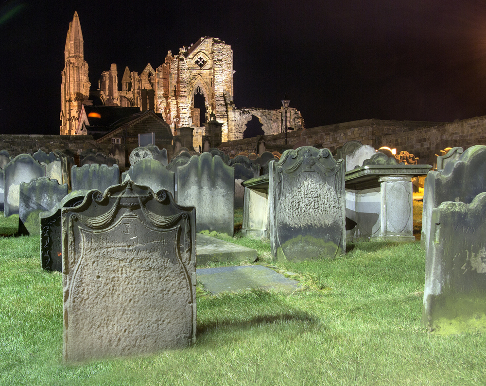 Whitby Abbey from St Mary's Graveyard