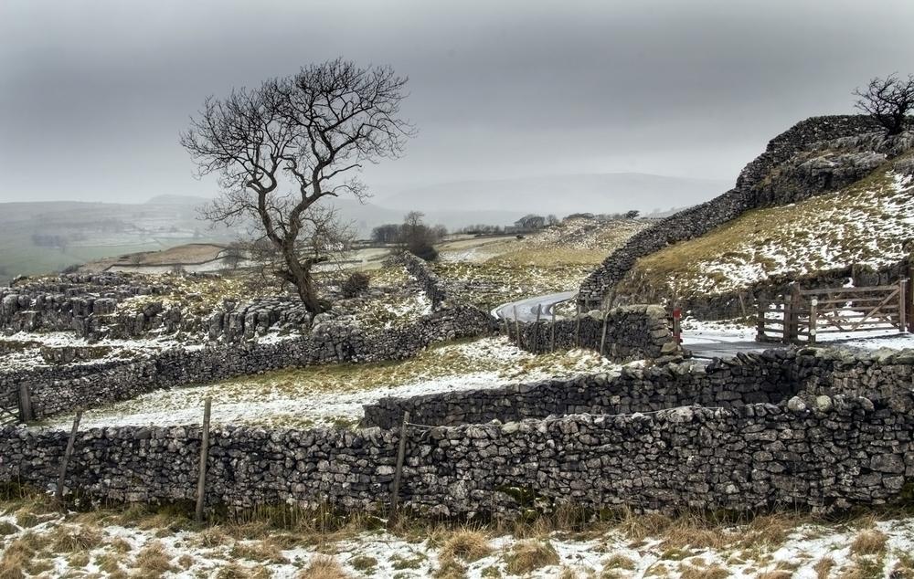 Winskill: dry stone walls