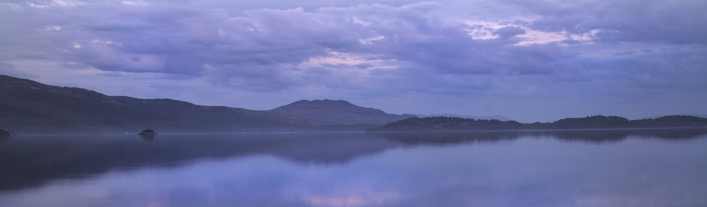 Last light on Loch Lomond
