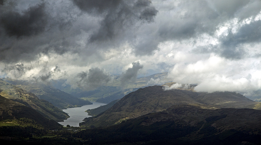 Stormy Sky over Loch Long