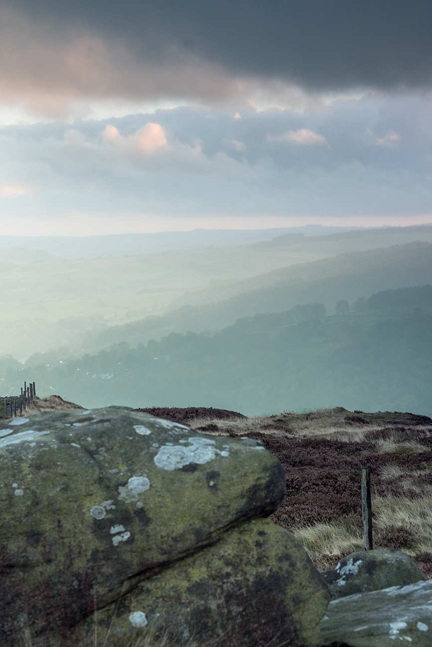 fading light - Millstone Edge