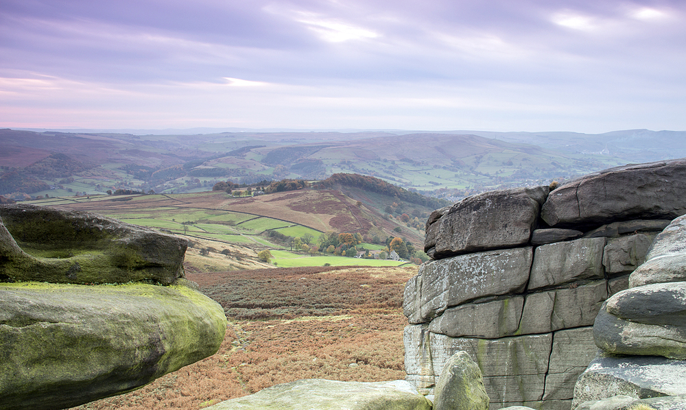 evening at Shelter Rock - Higger Tor