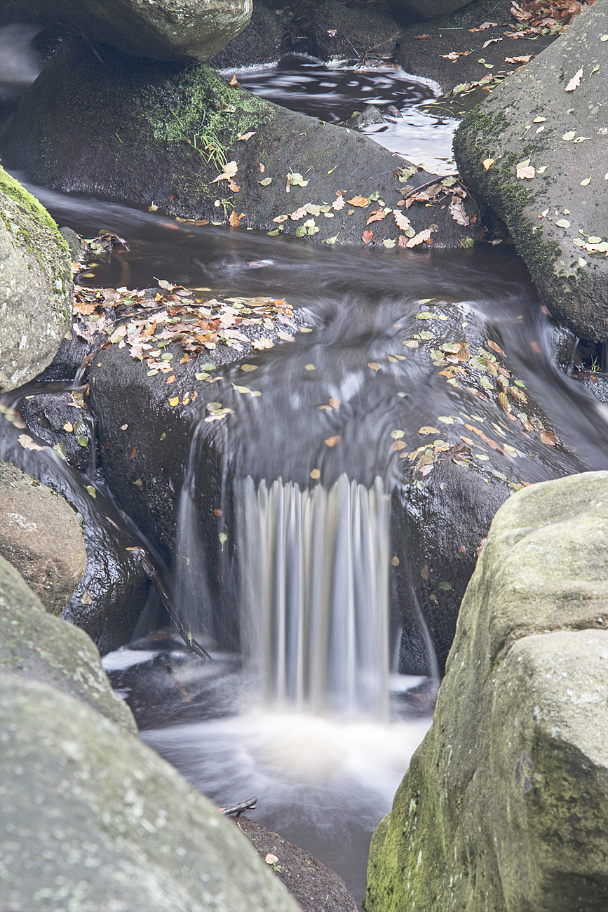 Autumn Waterfall 2 - Padley Gorge