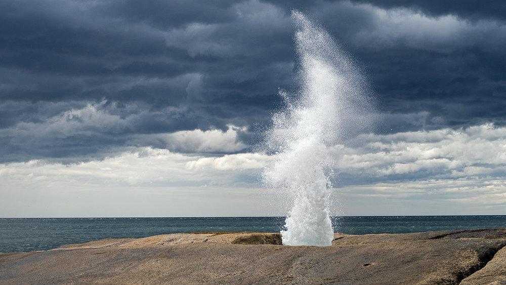 Bicheno Blowhole - Tasmania