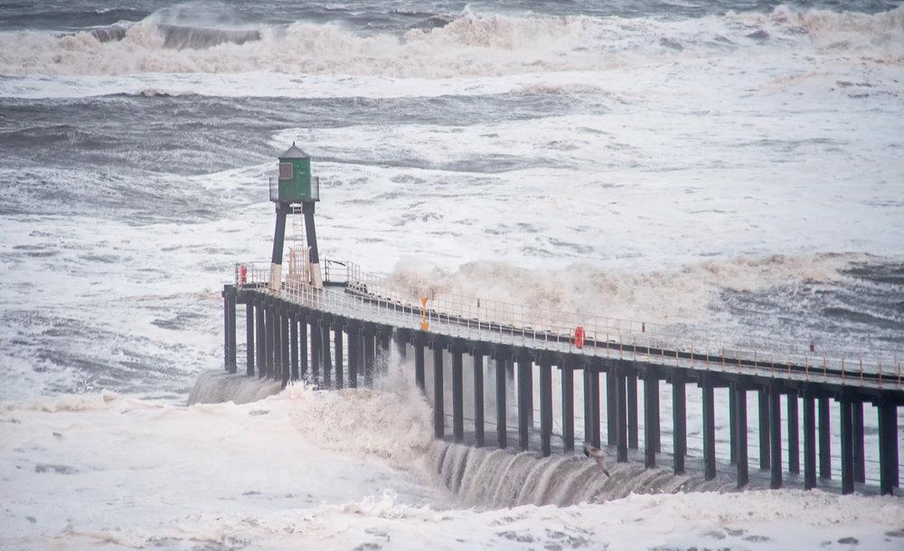 High Tide at West Pier