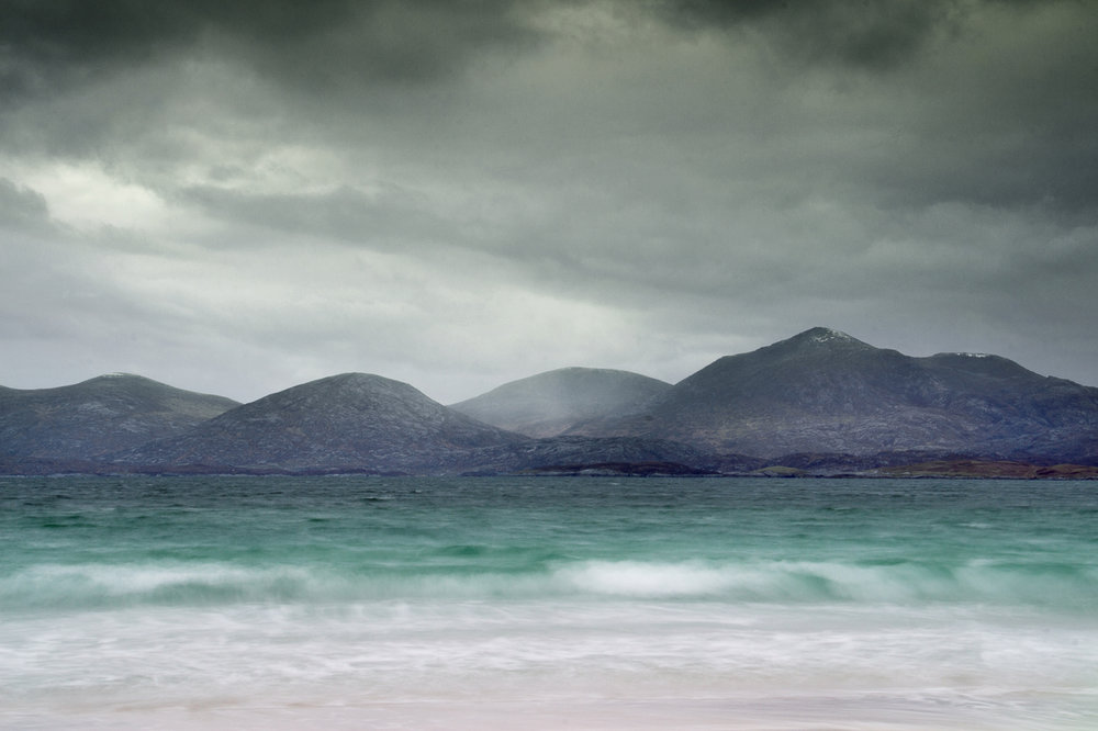 Taransay mountains