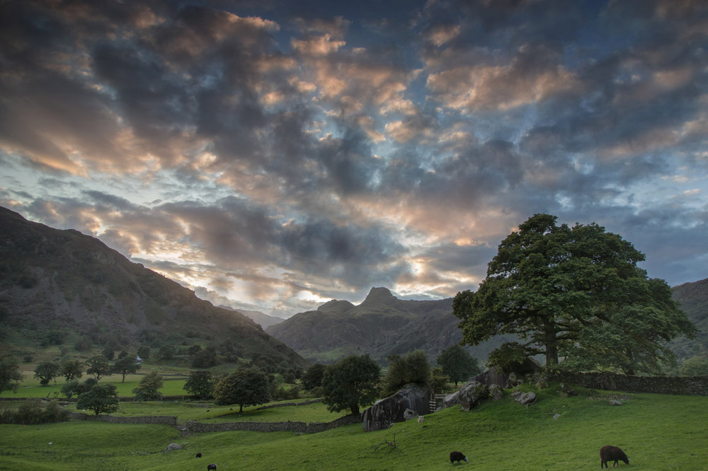 Great Langdale sunset