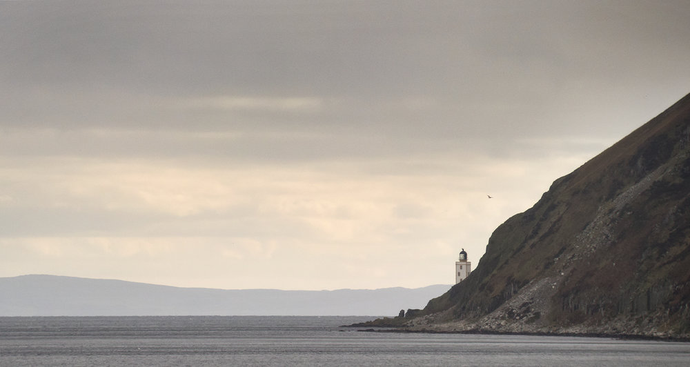 Holy Island lighthouse