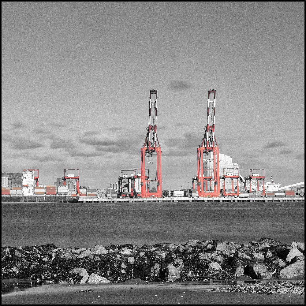 Liverpool Dock cranes