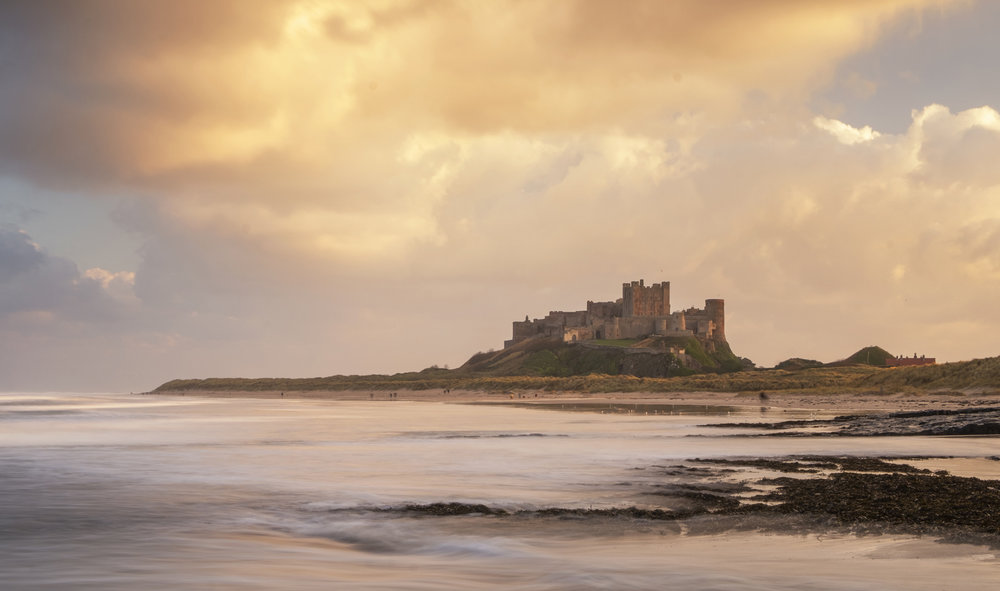 Bamburgh: end of the rain