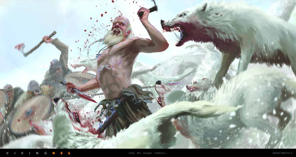 Rafael Martin C - VIKINGHEL - 12 Beasts Fight.jpg
