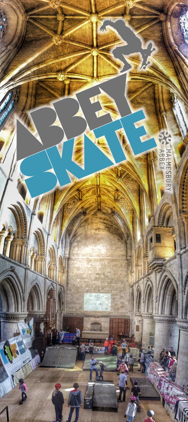 Malmesbury Abbey Skate 2017 ,15th-17th February