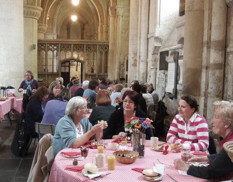 Refresh! Women's Breakfast at the Abbey in 2015