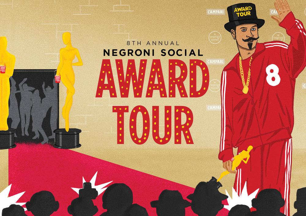 NEGRONI SOCIAL INVITATION
