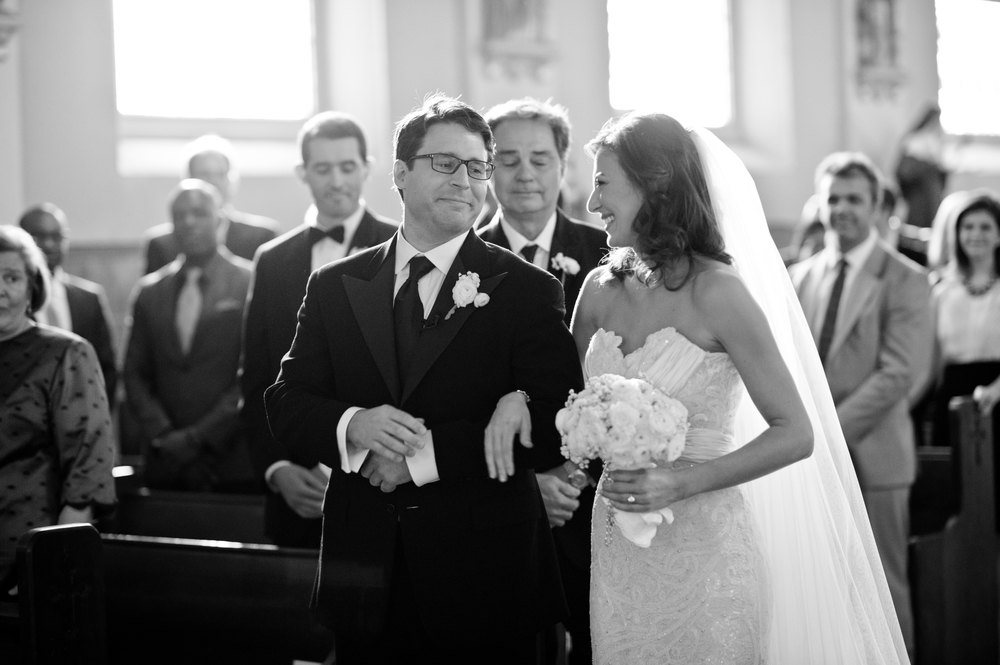 The Bride and her father, shot by Elizabeth Dondis, New Orleans Wedding Photographer